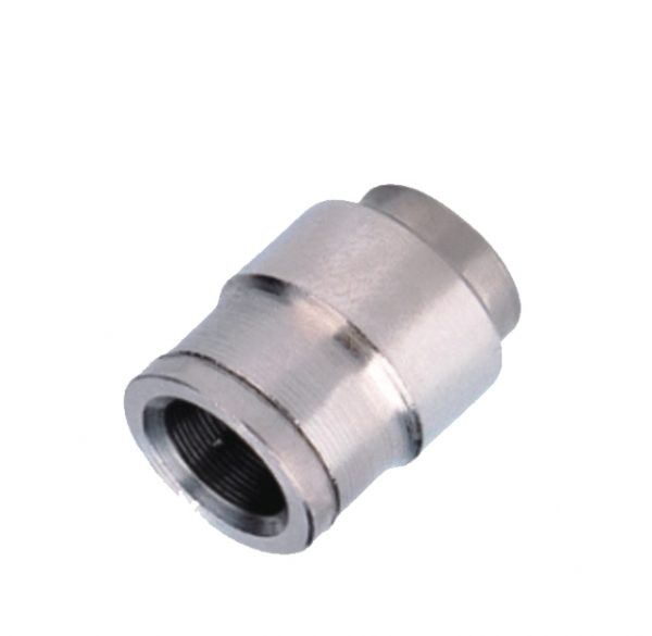 nickel plated cap push in fitting