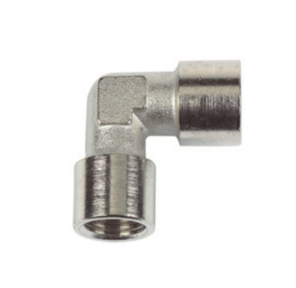 nickel plated female elbow pipe fitting