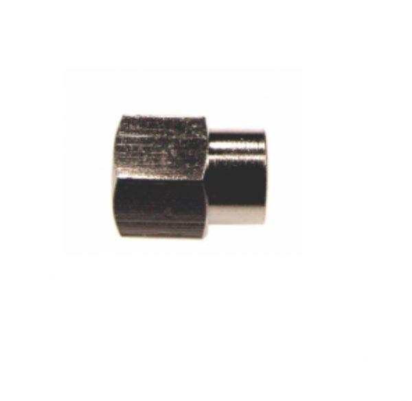 nickel plated female female reducing hex socket pipe fitting