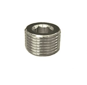 nickel plated hex holed taper plug pipe fitting