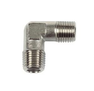 nickel plated male elbow pipe fitting