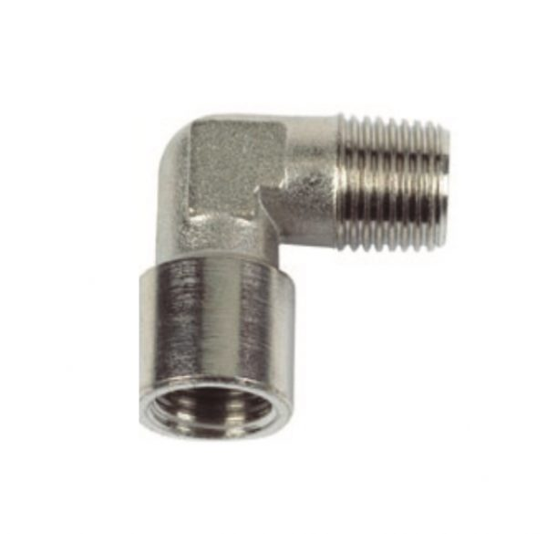 nickel plated male female elbow pipe fitting