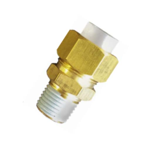 Brass male insert fitting tube connector pipe fitting