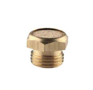 brass button silencer