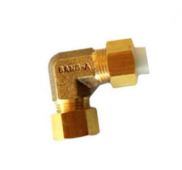 brass union elbow insert fitting tube pipe fitting
