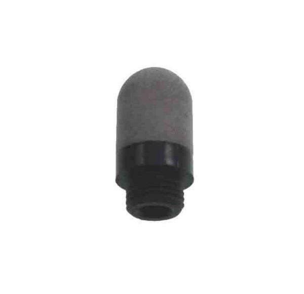 porous plastic silencer
