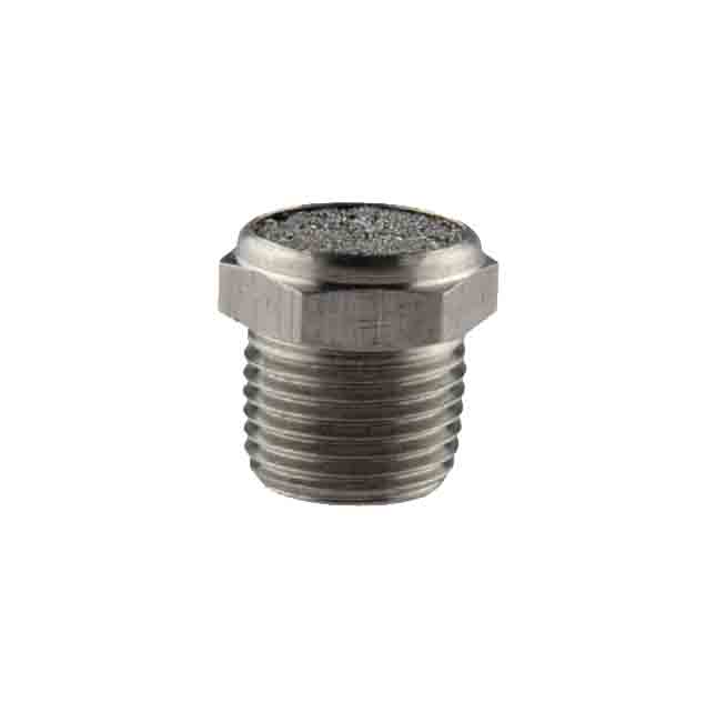 stainless steel button silencer