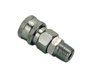 steel male quick connect coupler
