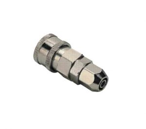 steel quick connect coupler with nut
